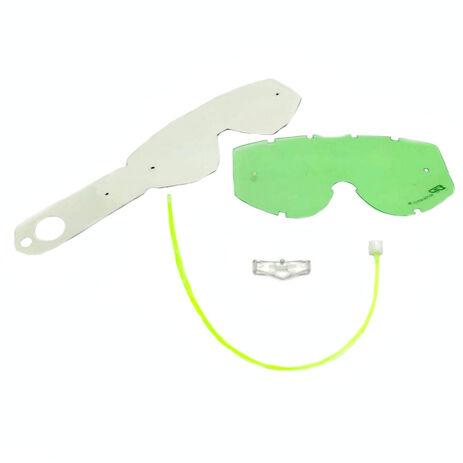_Green System Pro Grip pour Lunettes avec Système Tear-Off | 3290 | Greenland MX_