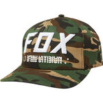 _Fox Triple Threat Flexfit Hat Camo | 23022-031 | Greenland MX_