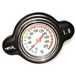 _Radiator Cap 4MX 1.8 Black Japanesse | 4MXT18BK | Greenland MX_