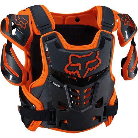 _Fox Raptor Protector Orange/Black   12351-009-P   Greenland MX_