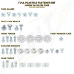_Honda Full Plastics Fastener Kits CRF 250 R 06-09 | BO-HON-060902 | Greenland MX_