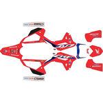 _Full Sticker Kit Honda CRF 450 R 2021 HRC | SK-HCRF45021HRCRED-P | Greenland MX_