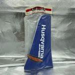 _Blackbird Seat Cover Husqvarna TC/TE 400/570 01-04 Blue Traditional | BKBR-1607-02 | Greenland MX_
