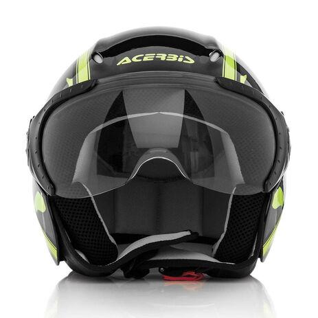 _Acerbis X-Jet On Bike Helmet Black/Yellow   0021662.318.00P   Greenland MX_