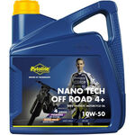 _Putoline Off Road 4 Strokes Nano Tech 4+ 10W-50 Oil 4 Lt | PT74031 | Greenland MX_