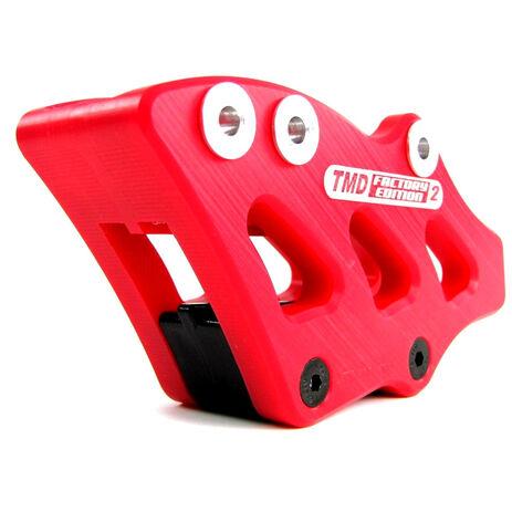 _Guia Cadena Indestructible TMD FE2 Honda CRF 250/450 R 07-17 CRF 250 X 08-16 CRF 450 X 08-07 Rojo | RCG-CR4-RD | Greenland MX_