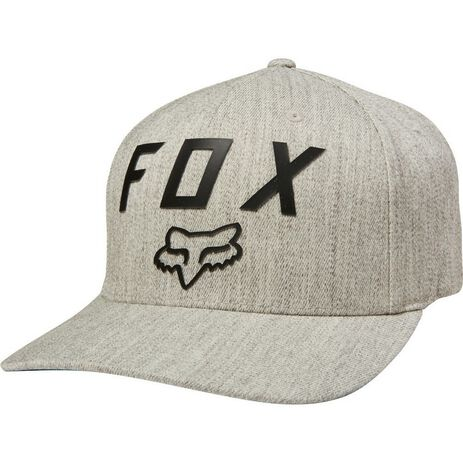 _Fox Number 2 Flexit Hat Gray | 21984-416 | Greenland MX_