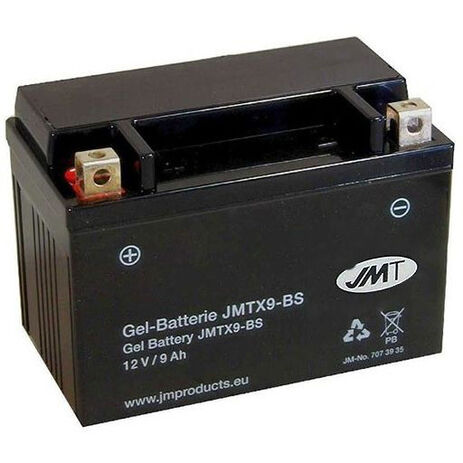 _JMT YTX9-BS GEL Battery | 7073935 | Greenland MX_