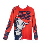 _Acerbis MX J-Windy Three Vented Youth Jersey Red/Blue | 0024817.344 | Greenland MX_