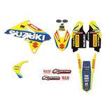 _Kit Adhesivos Blackbird Réplica Team Suzuki World MXGP RMZ 250 10-18   2319R6   Greenland MX_