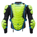 _Peto Integral Acerbis Cosmo 2.0 Body Armour Amarillo Flúor/Azul | 0017178.274.00P | Greenland MX_