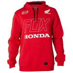 _Fox Honda Po Zip Fleece Red | 21146-208-P | Greenland MX_