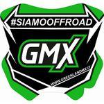 _GMX Mini Plate Sticker 5,5 x 5,5 cm | PU-MBFPIT-P | Greenland MX_