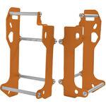 _Cross Pro Radiator Cages KTM EXC 12-16 SX 11-14 Orange | 2CP06001410010 | Greenland MX_