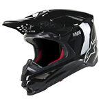 _BlacAlpinestars Supertech M8 Solid Helmet Black Matt   8300519-110   Greenland MX_