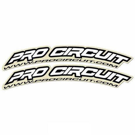 _Autocollants Garde-boue Avant Pro Circuit (125cc-500cc) | DC0010 | Greenland MX_