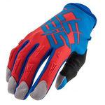 _Acerbis MX X2 Gloves Blue/Orange Fluo | 0021631.431 | Greenland MX_