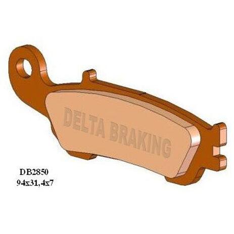 _Delta Front Brake Pads Yamaha YZ 125/ YZ 450 F 08-13 YZ 250/ YZ 250 F 07-13 | DB2850 | Greenland MX_