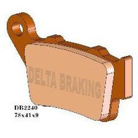 _Pastillas de Freno Delta Traseras KTM SX 125 94-03 EXC 125-250 95-03 EXC-F/SX-F 520-525 01-03 | DB2240 | Greenland MX_