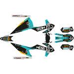 _KTM EXC/EXC-F 2020 Full Sticker Kit WESS | SK-KTEXC20WSTU-P | Greenland MX_
