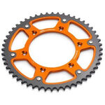 _Steel Rear Sprocket KTM EXC/SX 50 T Orange | 5841005105004 | Greenland MX_