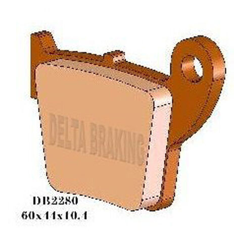 _Pastillas de Freno Delta Traseras Yamaha YZ 80 93-01 YZ 65/85 02-.. Delanteras Honda CRF 150 R 07-.. | DB2800 | Greenland MX_