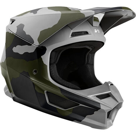 _Fox V1 Przm Special Edition Helmet Camo | 24342-027 | Greenland MX_