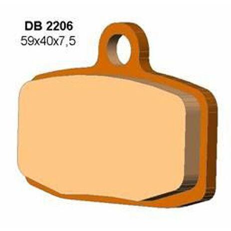 _Plaquettes De Frein Delta Avant KTM SX 85 12-13 Sherco Trial 12-13 ( Formula ) | DB2206 | Greenland MX_