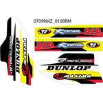 _TJ Suspension Decal Kit Suzuki RM 125/250 04-13 RMZ 250 07-18 450 05-17 | SKRMRMZ | Greenland MX_