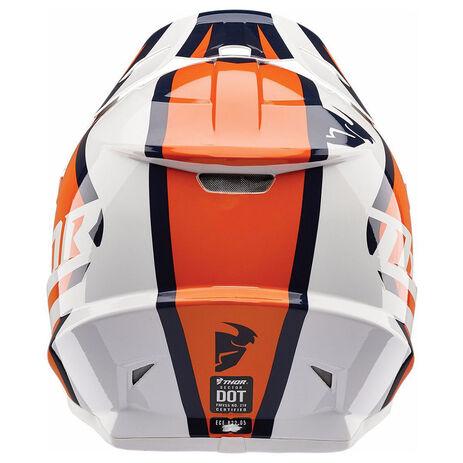 _Thor Sector Ricochet Helmet Blue/Orange | 01105166-P | Greenland MX_
