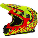 _Scorpion VX-21 Air Furio Helmet Yellow Fluor/Black/Red | 31-230-119-P | Greenland MX_