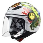 _LS2 Funny Mini OF602 Croco Youth Helmet | 306022061-P | Greenland MX_