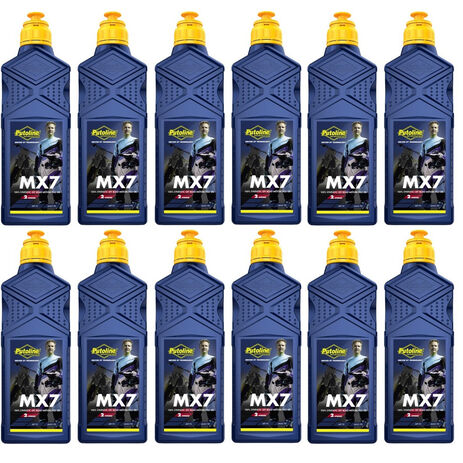 _Putoline 2 Strokes MX 7 Oil 12 Lt | PT70275-12 | Greenland MX_