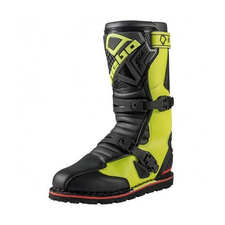 _Hebo Trial Technical Evo 2.0 Micro Boots Lime | HT1014LM | Greenland MX_