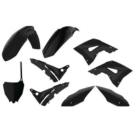 _Polisport MX Restyling Honda CR 125/250 02-07 Plastic Kit Black | 90821 | Greenland MX_