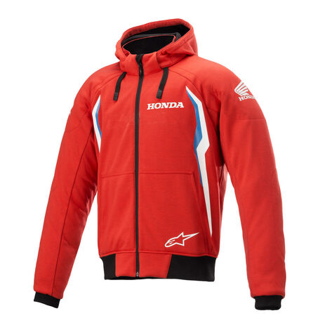 _Alpinestars Honda Chrome V2 Sport Zip Hoodie Red/Blue   4200821-3017   Greenland MX_