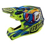 _Troy Lee SE4 Composite Helmet Eyeball | 10515601-P | Greenland MX_