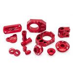 _Zeta Racing Honda CRF 450 R/RX 17-18 Aluminum Accessories Kit Red | ZE51-2042 | Greenland MX_
