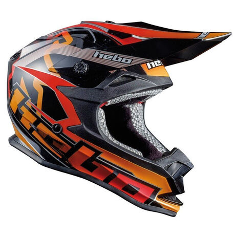 _Hebo MX Tracker Helmet Black | HC0616N | Greenland MX_