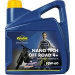 _Putoline Off Road 4 Strokes Nano Tech 4+ 10W-60 Oil 4 Lt | PT74026 | Greenland MX_