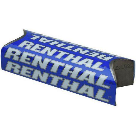 _Renthal Fat Bar Team Issue Square Handlebar Pad Blue | P281-P | Greenland MX_