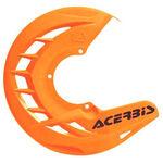 _Acerbis X-Brake Front Disc Protector Orange Fluor | 0016057.011.016 | Greenland MX_