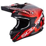 _Scorpion VX-15 Evo Air Sin Helmet Black/Red   35-247-160-P   Greenland MX_