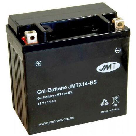 _JMT YTX14-BS GEL Battery | 7073950 | Greenland MX_
