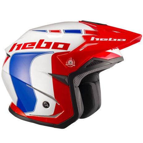 _Hebo Zone 5 Like Trial Helmet Blue   HC1115A   Greenland MX_
