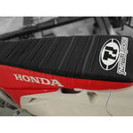 _Funda de asiento TJ Honda CRF 250 10-13 CRF 450 R 09-12 USA roja-negra con ribetes | ST0911CRFBTSR | Greenland MX_