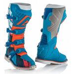 _Acerbis X-Pro V Boots Blue/Orange | 0021596.243.00P | Greenland MX_