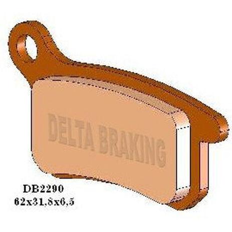 _Plaquettes De Frein Delta Avant KTM SX 65 02-.. SX 85 03-11 Arrière SX 65 09-.. SX 85 03-10 | DB2290 | Greenland MX_