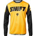 _Jersey Shift Whit3 Label Ninety-Seven Amarillo | 19323-005-P | Greenland MX_