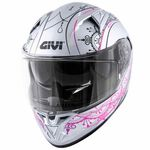 _Givi 50.6 Stoccarda Mendhi Ladies Helmet | H506FMDSP | Greenland MX_